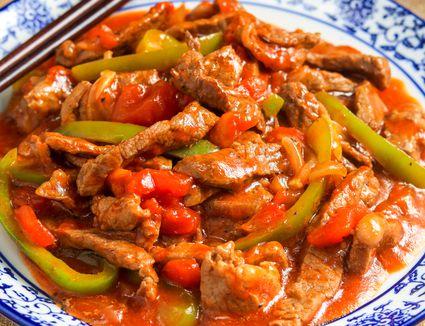 Pepper steak with sirloin tips