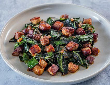 Southern style turnip greens recipe