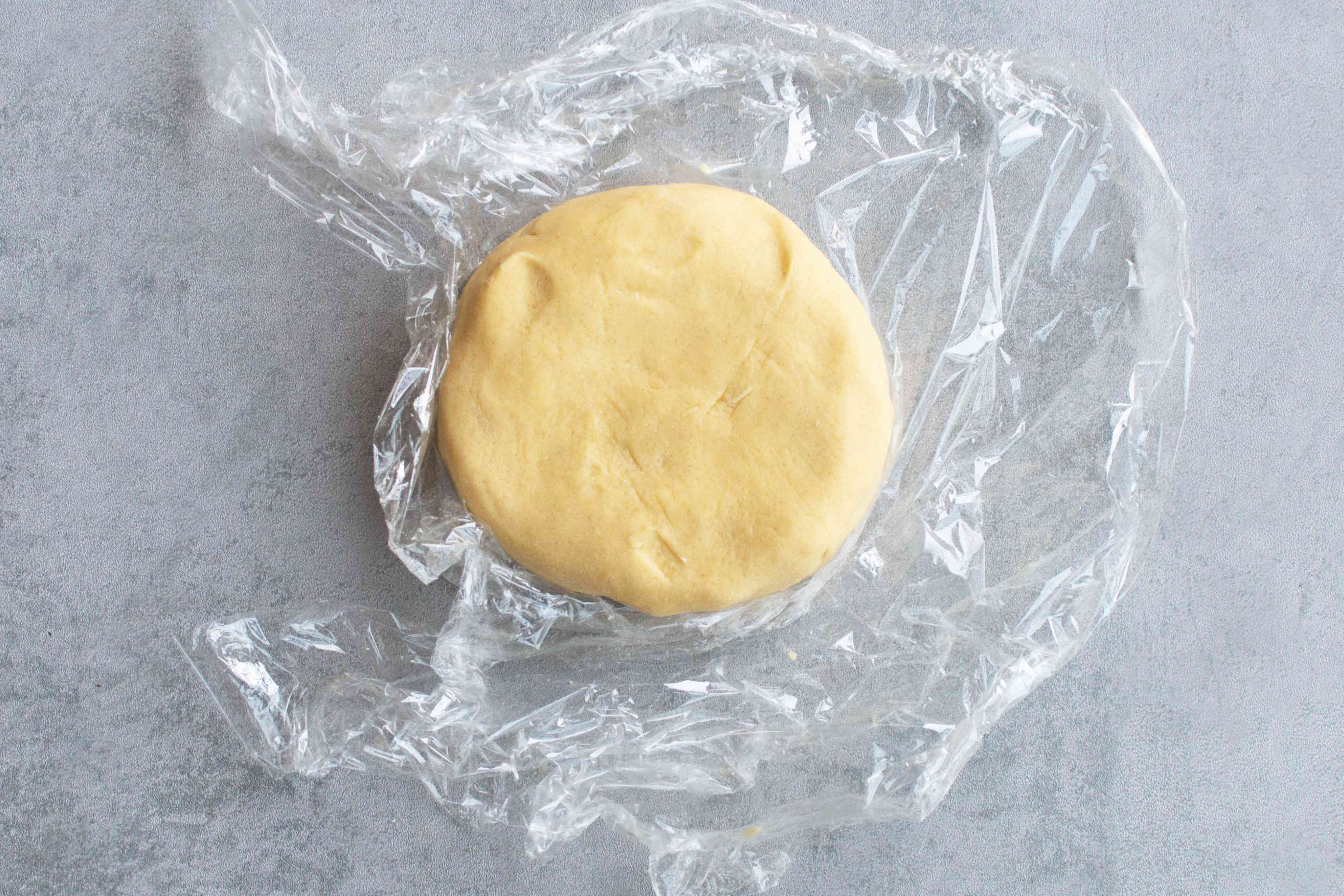 gather and wrap the pastry