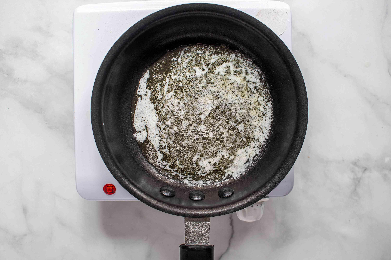melt butter in a small saucepan