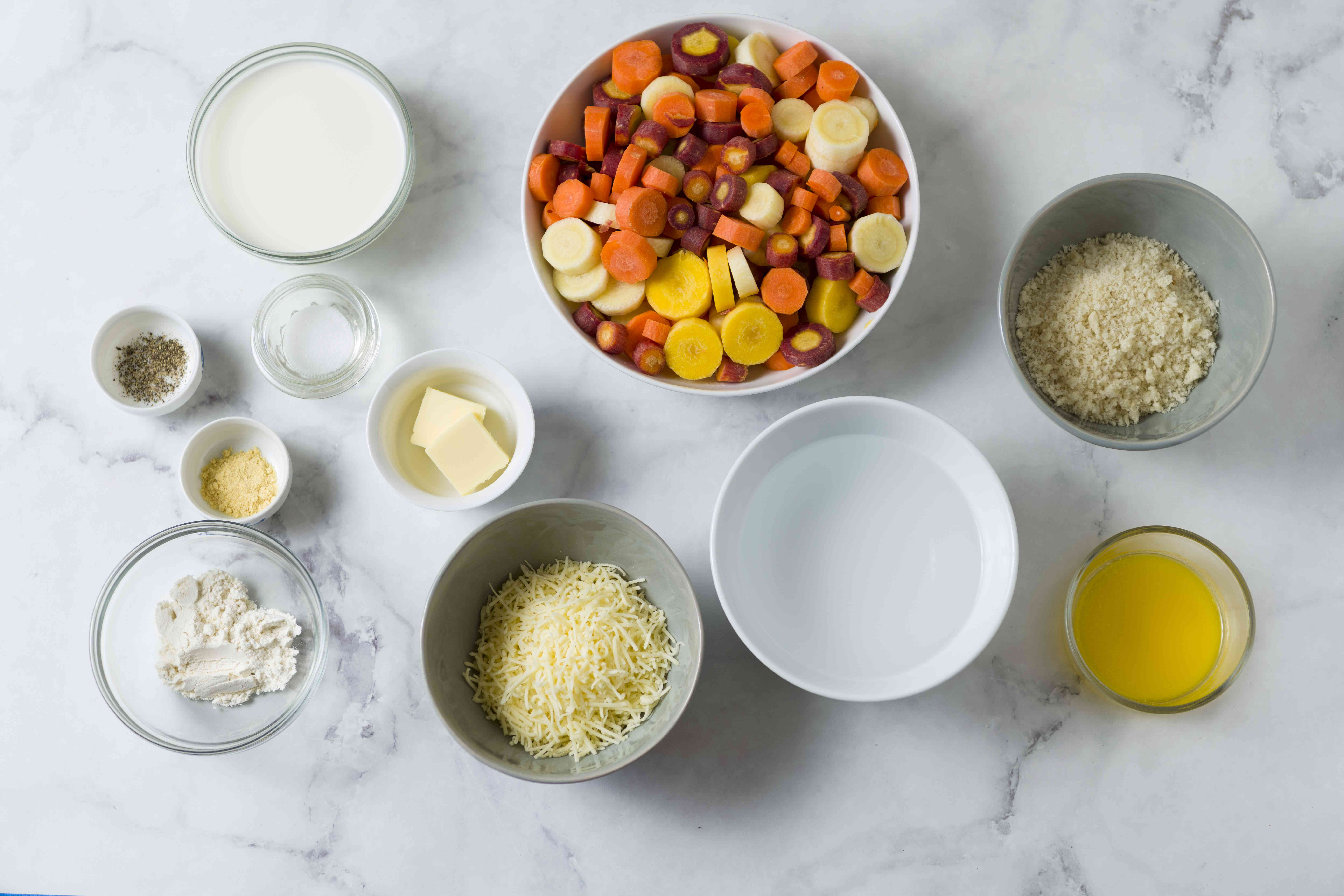 carrot casserole ingredients