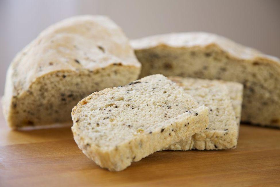 Homemade Fresh Parsley Bread