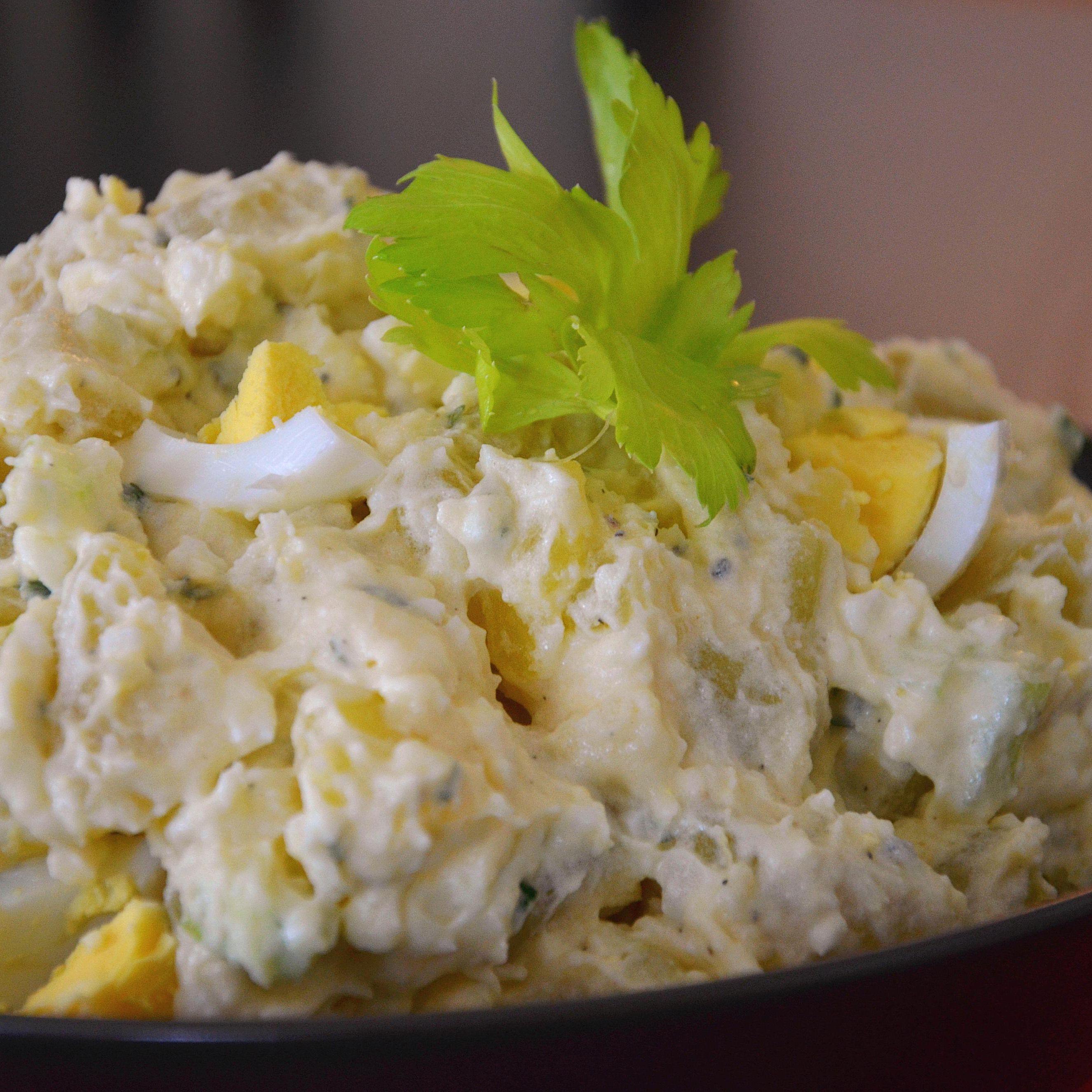 Potato Salad Recipe Sour Cream Mayonnaise
