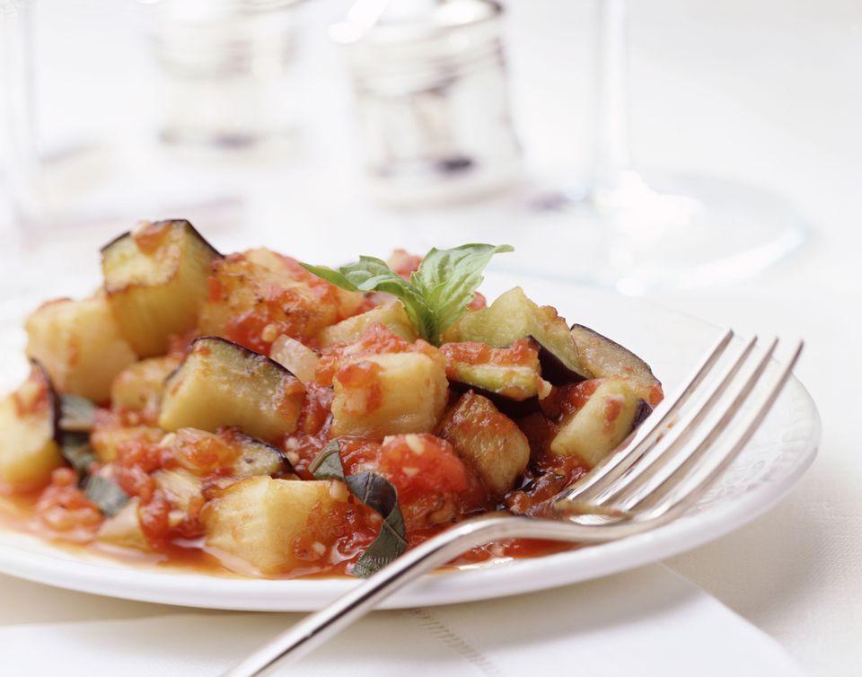 Ratatouille With Zucchini, Eggplant, and Tomatoes