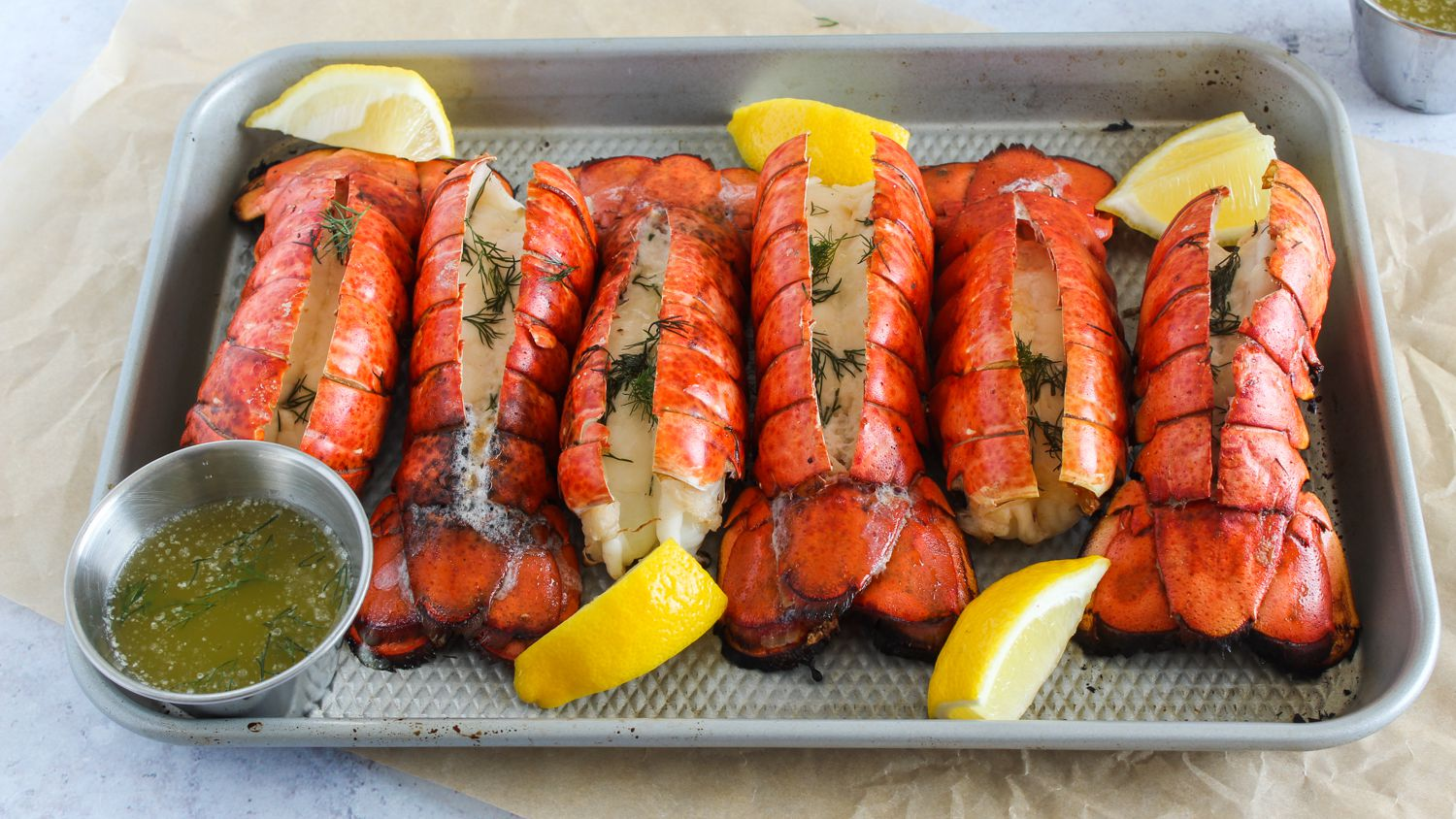 Grilled Lobster Tails Recipe