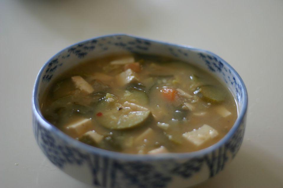 Korean Bean Paste Stew (Daenjang Chigae)