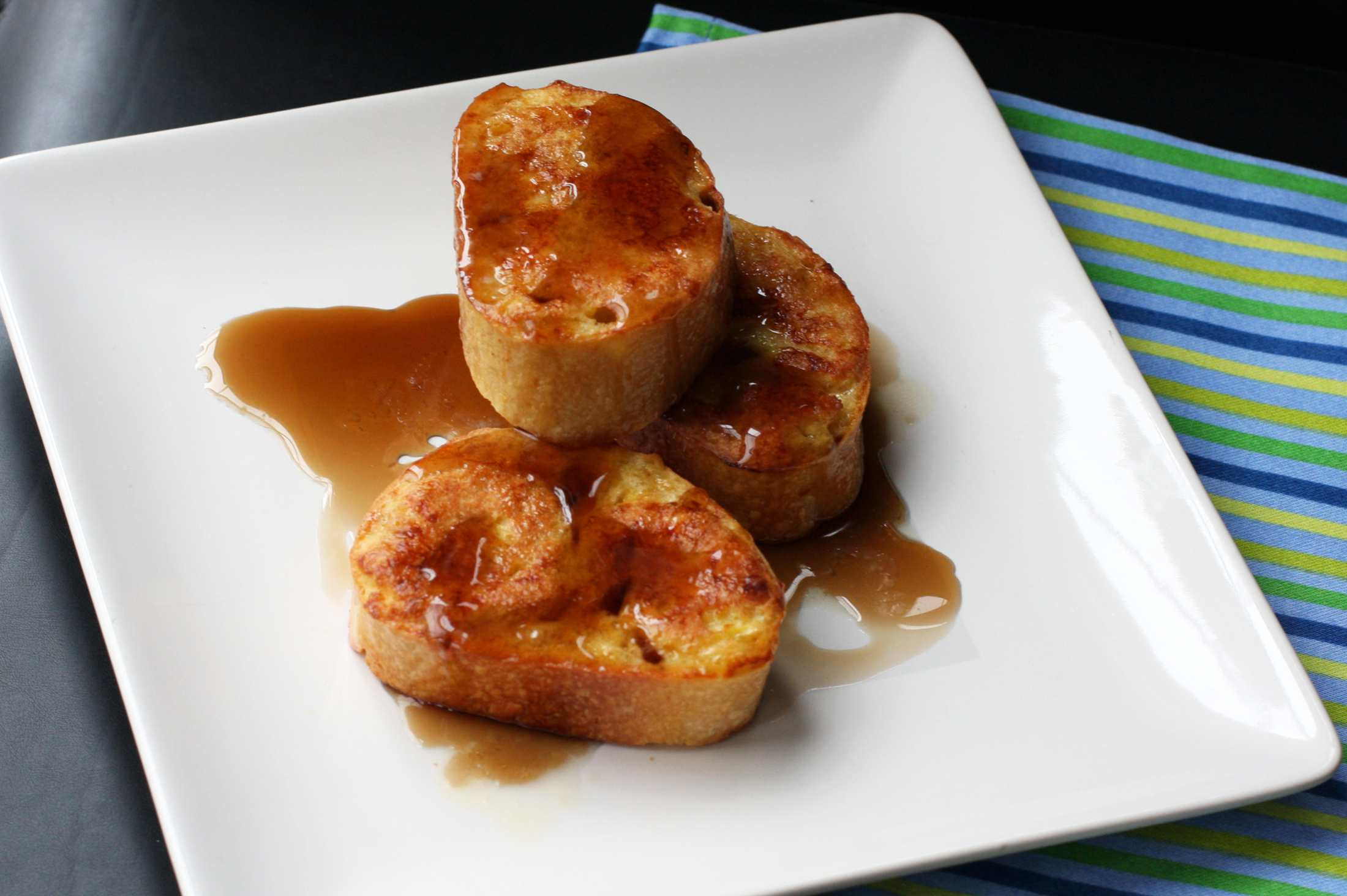 Pain Perdu (French Toasted Baguette)