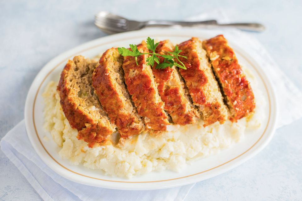 Buffalo chicken meatloaf recipe
