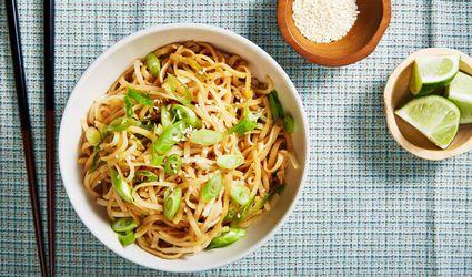 Gluten-Free, Vegan Chinese Cold Sesame Noodles