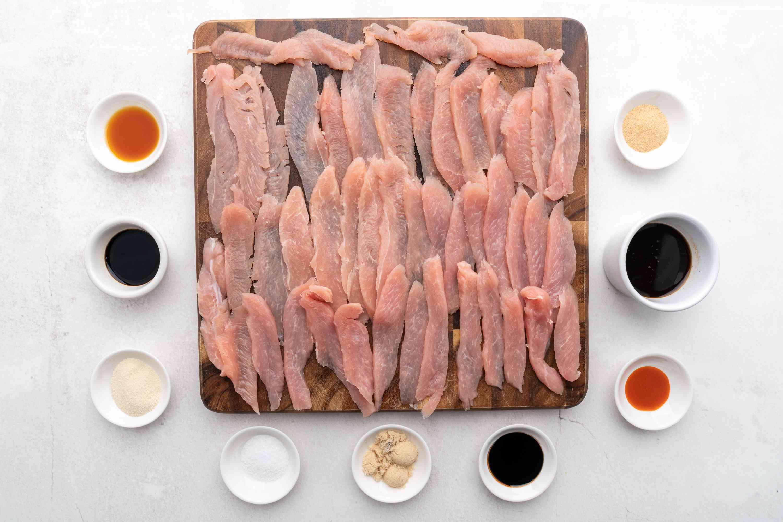Ingredients for turkey jerky