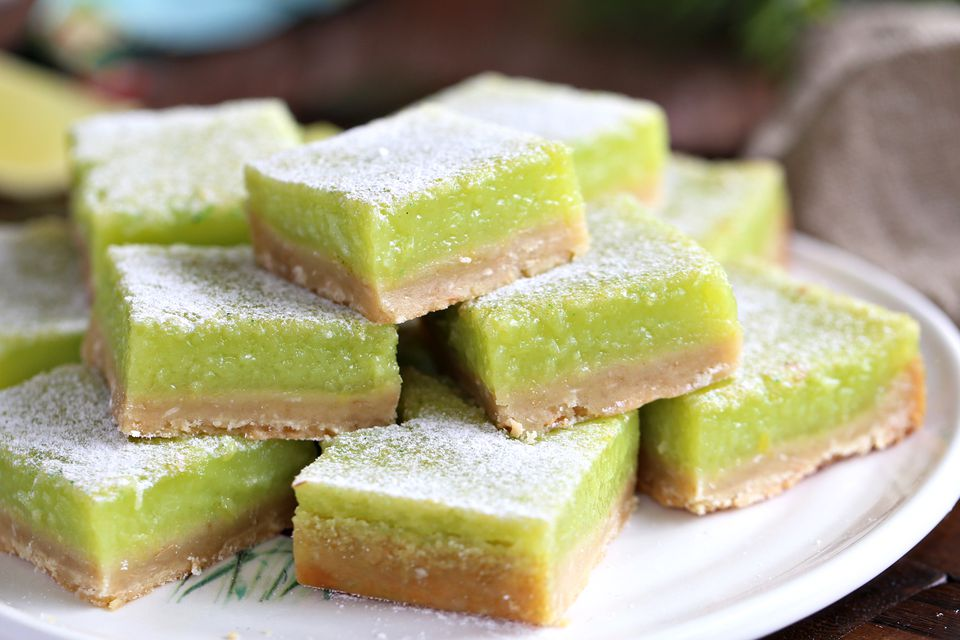 Lime Coconut Bars