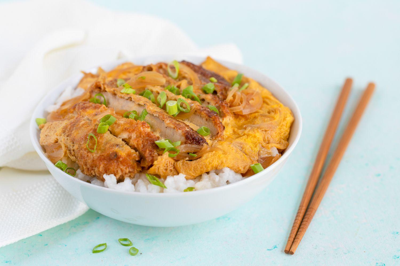 Katsudon Pork Cutlet Rice Bowl