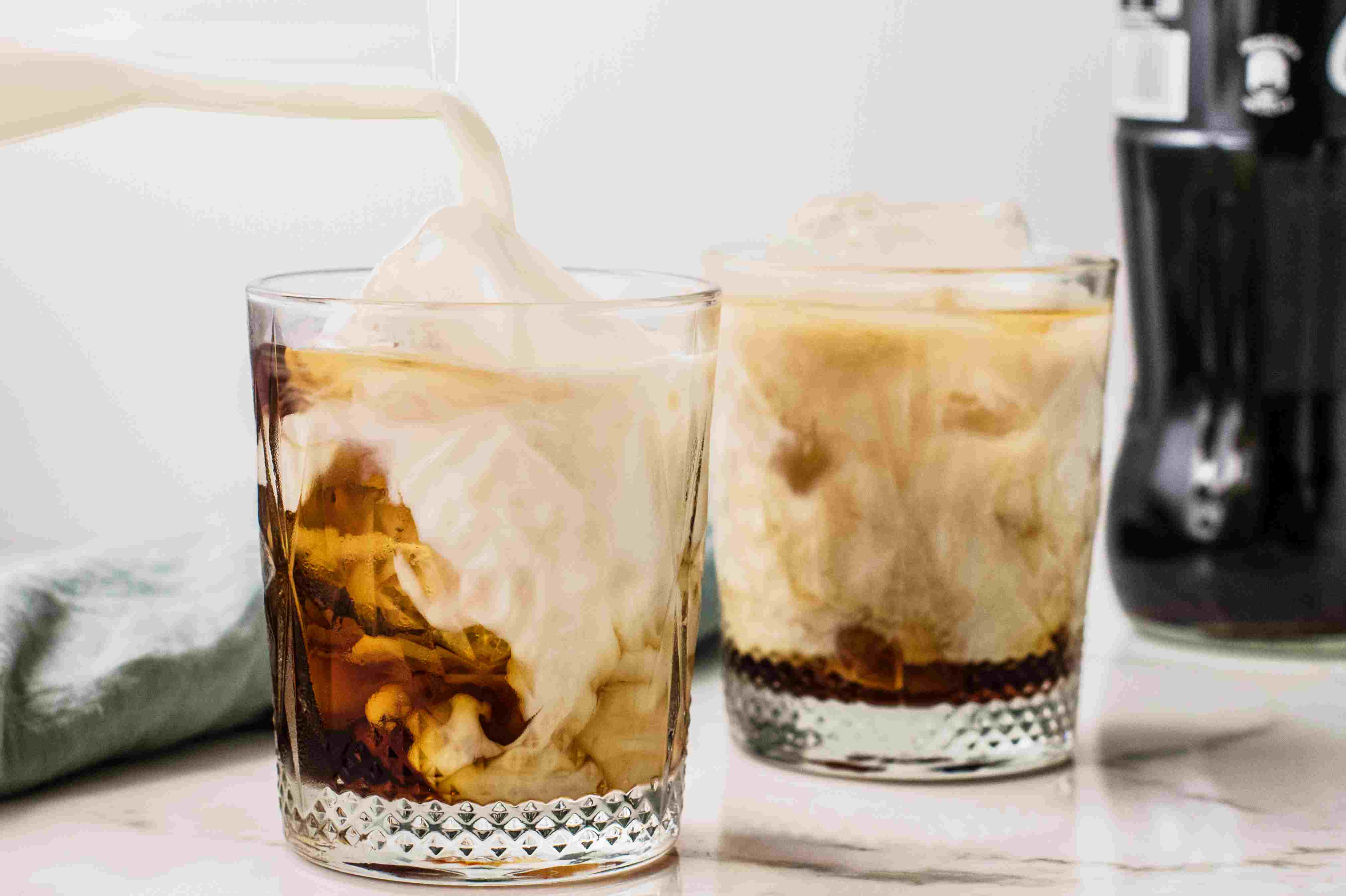 Cream and cola added to Colorado bulldog cocktail