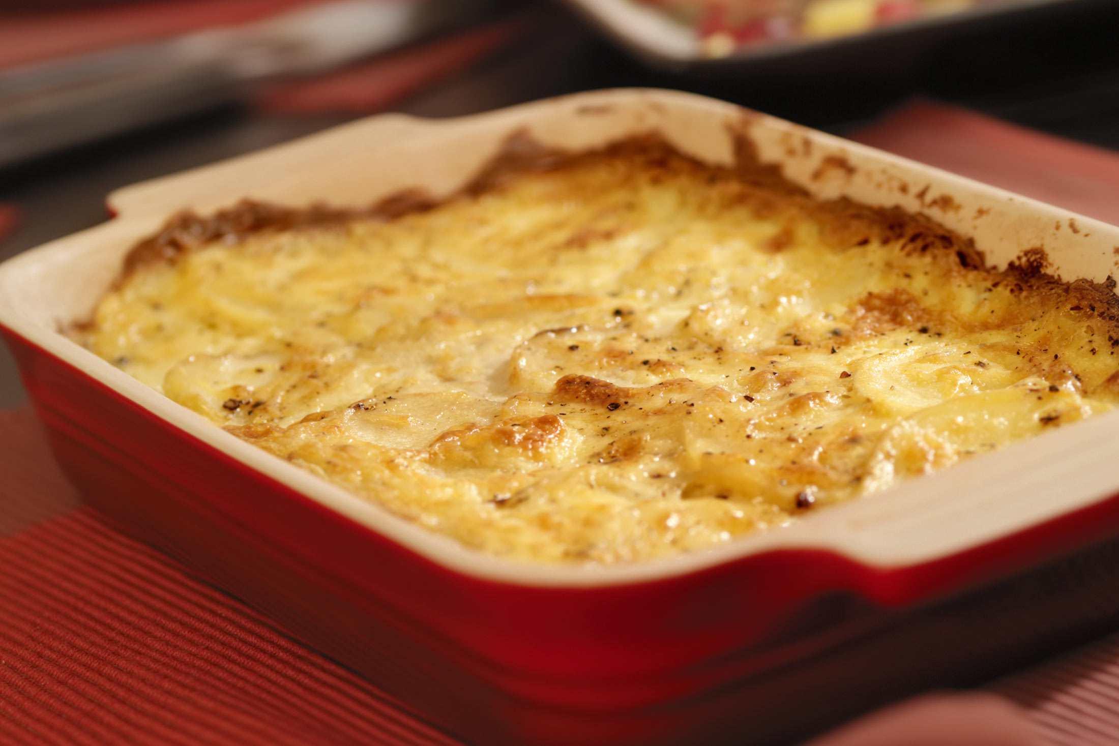 creamy potato casserole recipe with sour cream