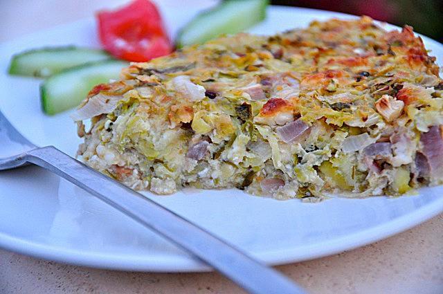 Zucchini Pie - Kolokithopita