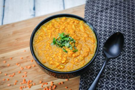 Spicy indian lentil dahl recipe spicy indian lentils forumfinder Image collections