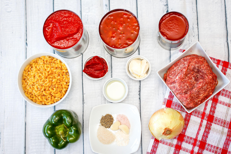 American chop suey recipe ingredients