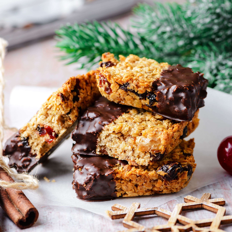 Christmas British Flapjacks Recipe