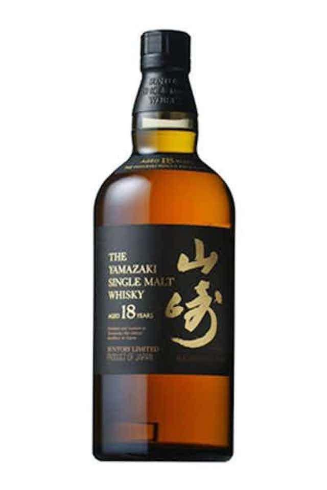 Yamazaki 18 Year Old Single Malt Japanese Whisky
