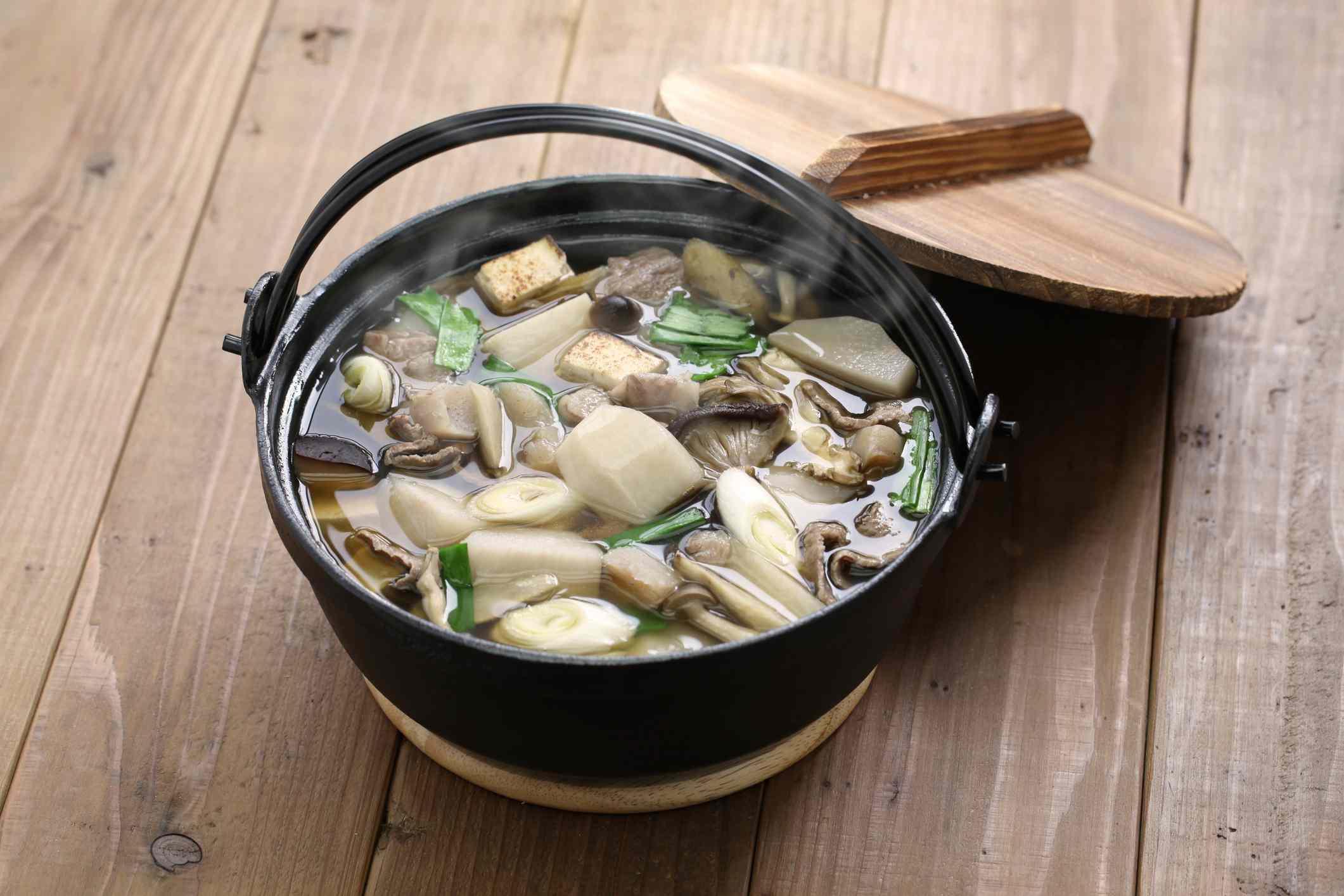 Burdock root soup