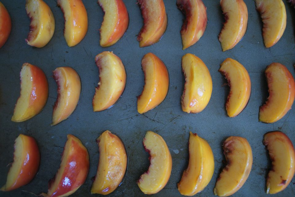 Frozen Sliced Peaches