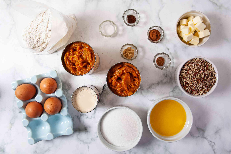 Pumpkin Pie Cake ingredients