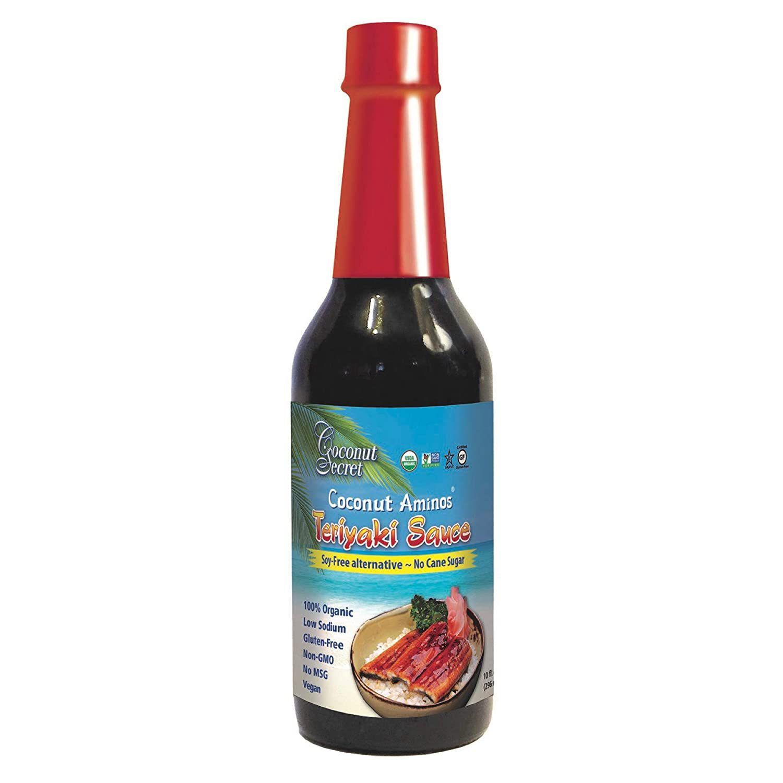 Coconut Secret Soy-Free Coconut Aminos Teriyaki Sauce