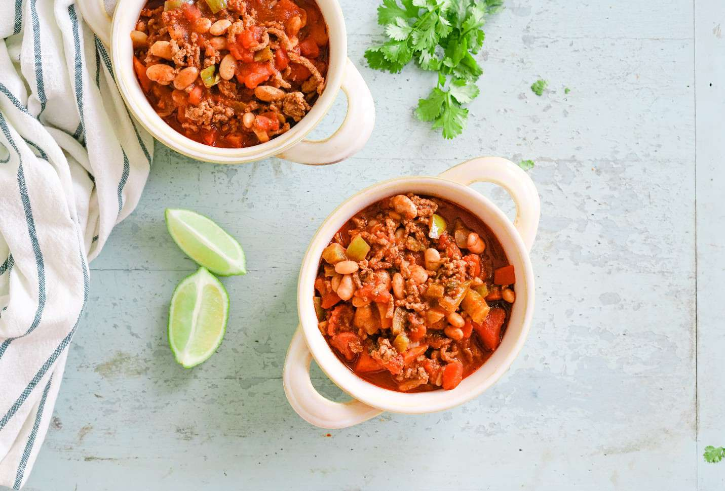 Ground Beef And Pinto Bean Chili Recipe