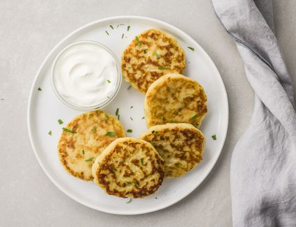 Crispy potato patties