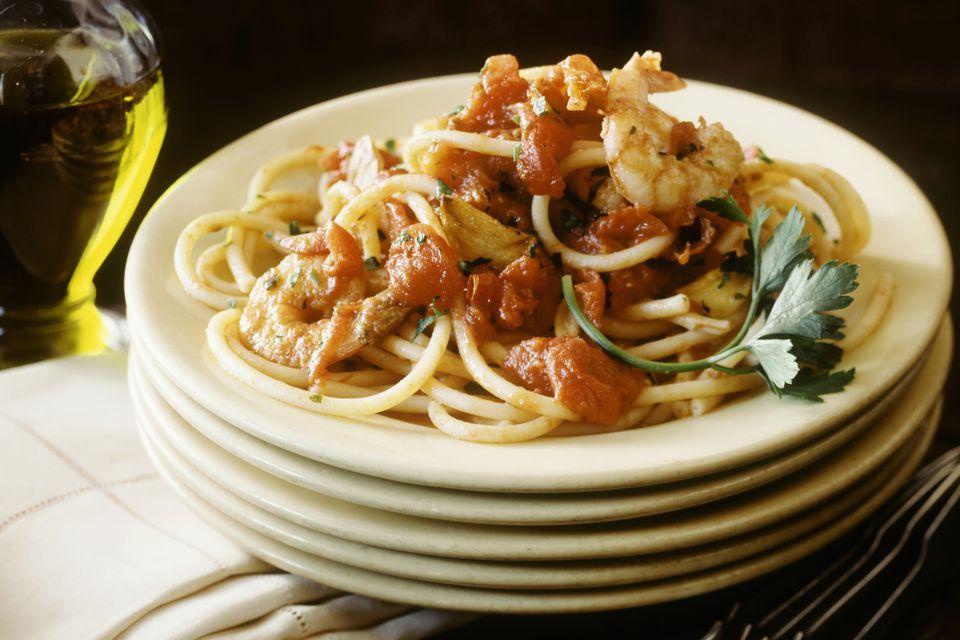 Slow Cooker Marinara Sauce With Shrimp