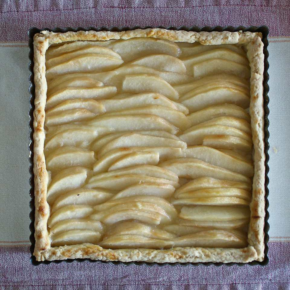 Receta fácil de tarta de pera o galette