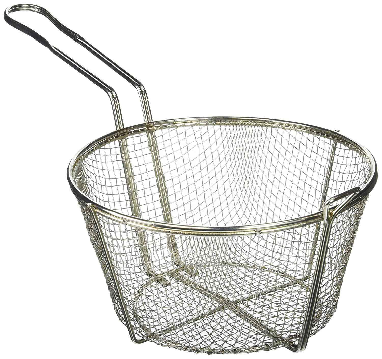 Winco 9-Inch Round Wire Fry Basket