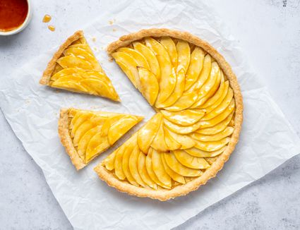 Classic French Tarte Aux Pommes