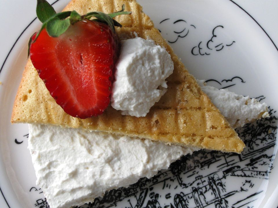 Genoise and Chantilly