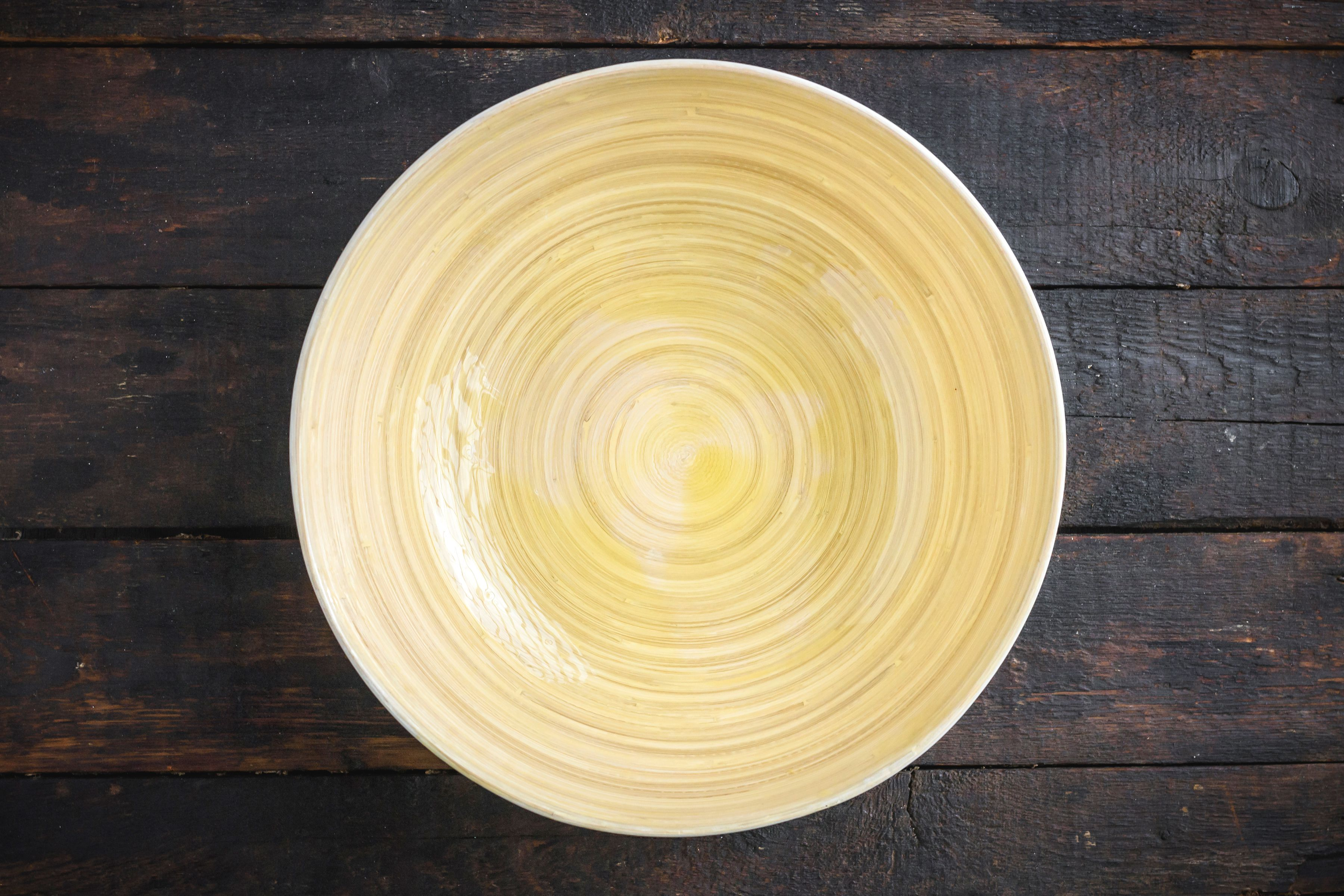 Oil a large bowl