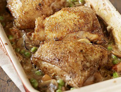 Braised Drucken Chicken Thighs