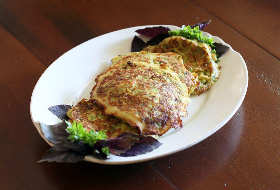 Savory Zucchini Pancakes