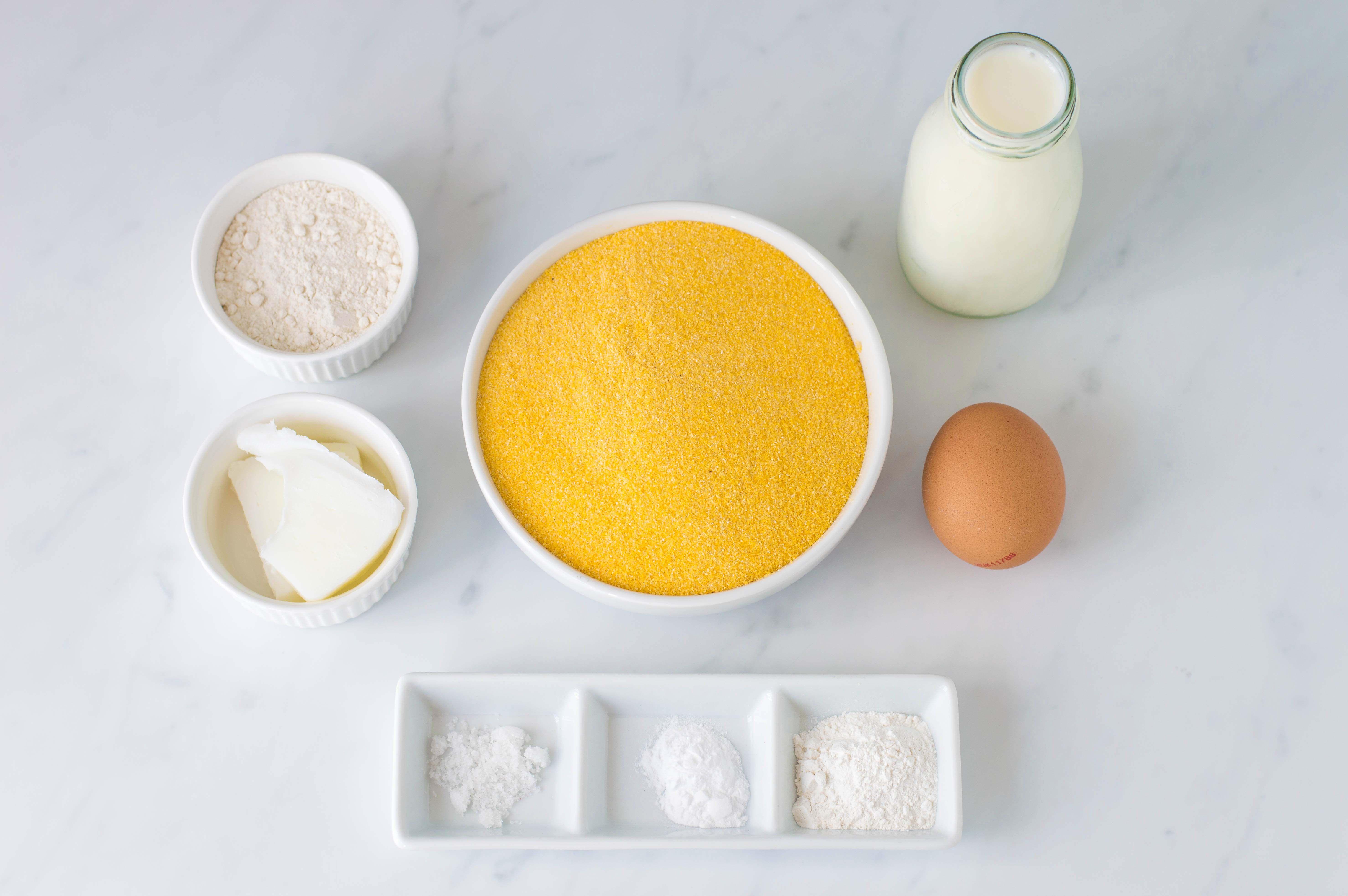 Southern Buttermilk Cornbread Recipe ingredients