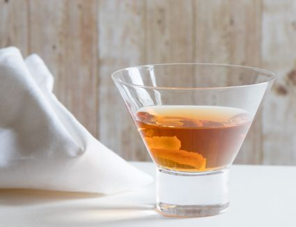 Classic Star Cocktail With Apple Brandy