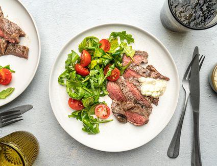 Easy Minute Steak Meal