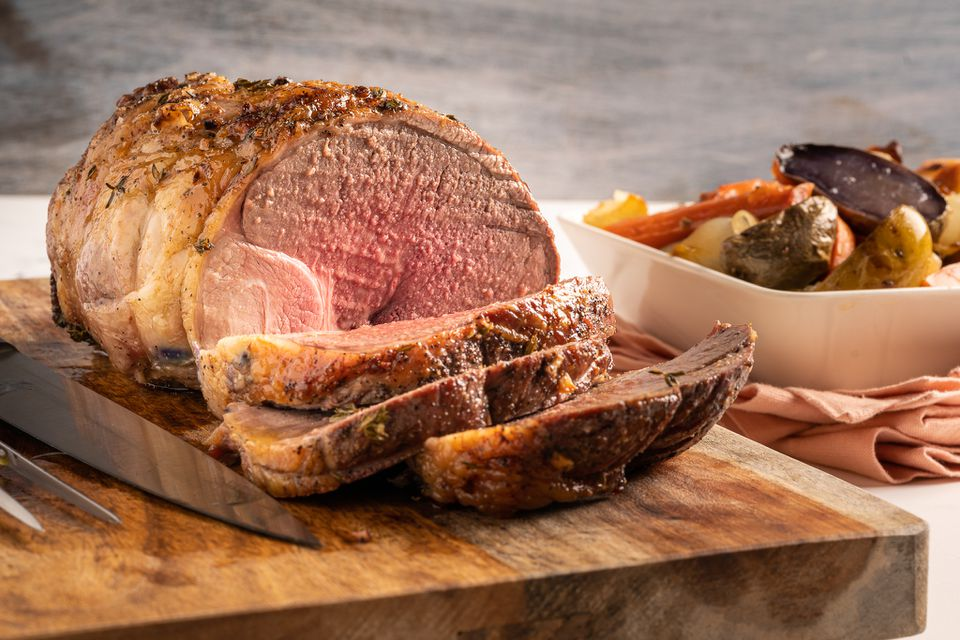 Succulent Roast Lamb With Root Vegetables