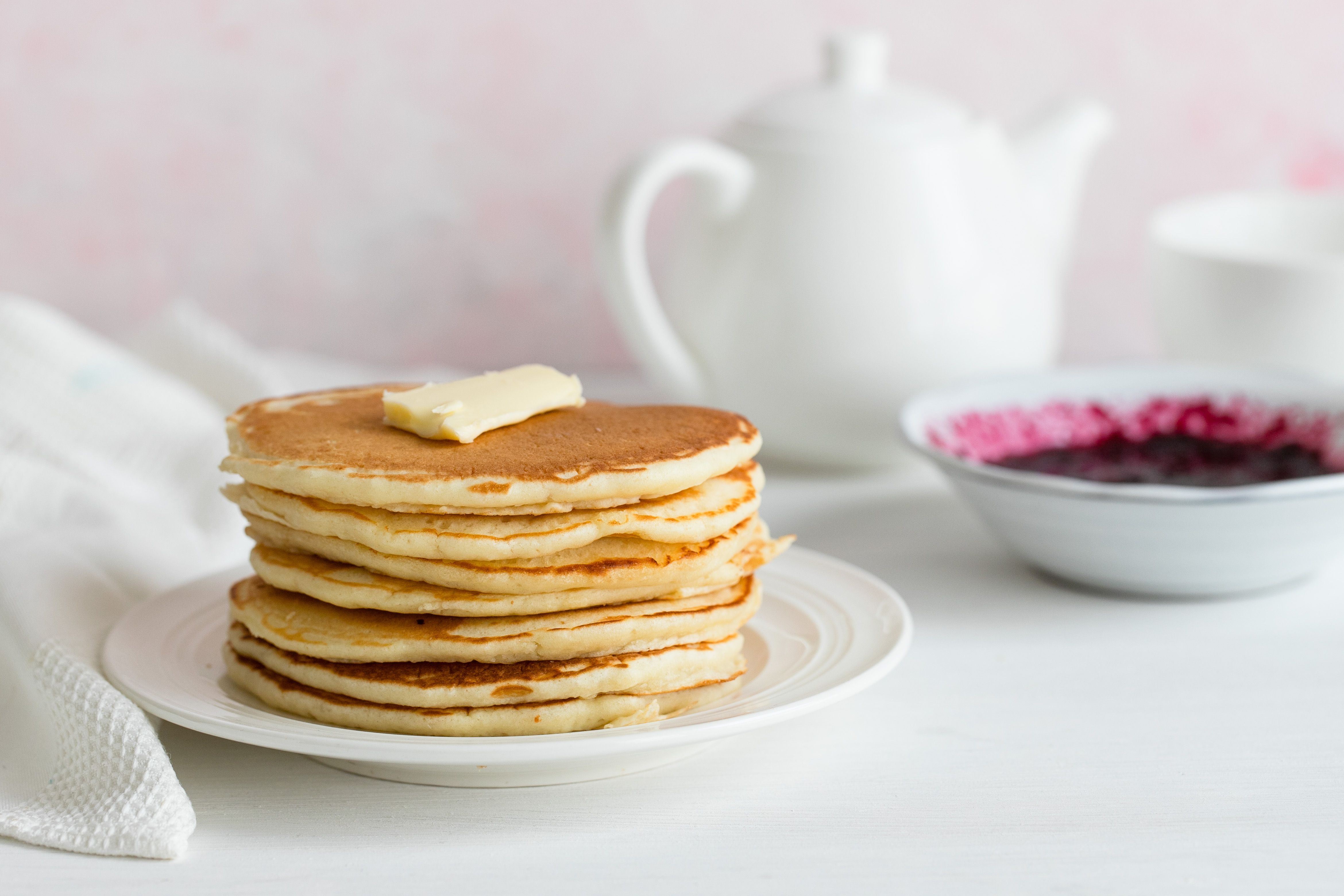 Simple Homemade Pancakes With Variations