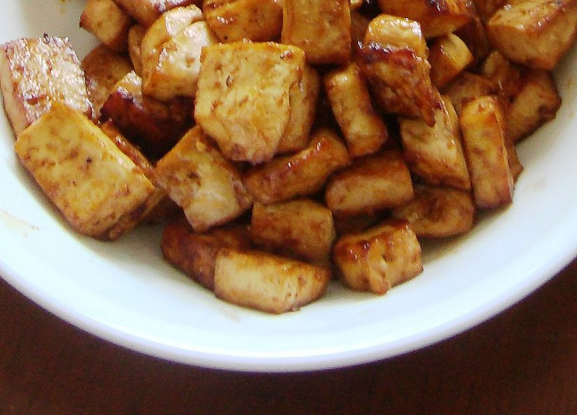 Vegan baked korean bbq tofu vegan baked korean bbq tofu recipe forumfinder Gallery