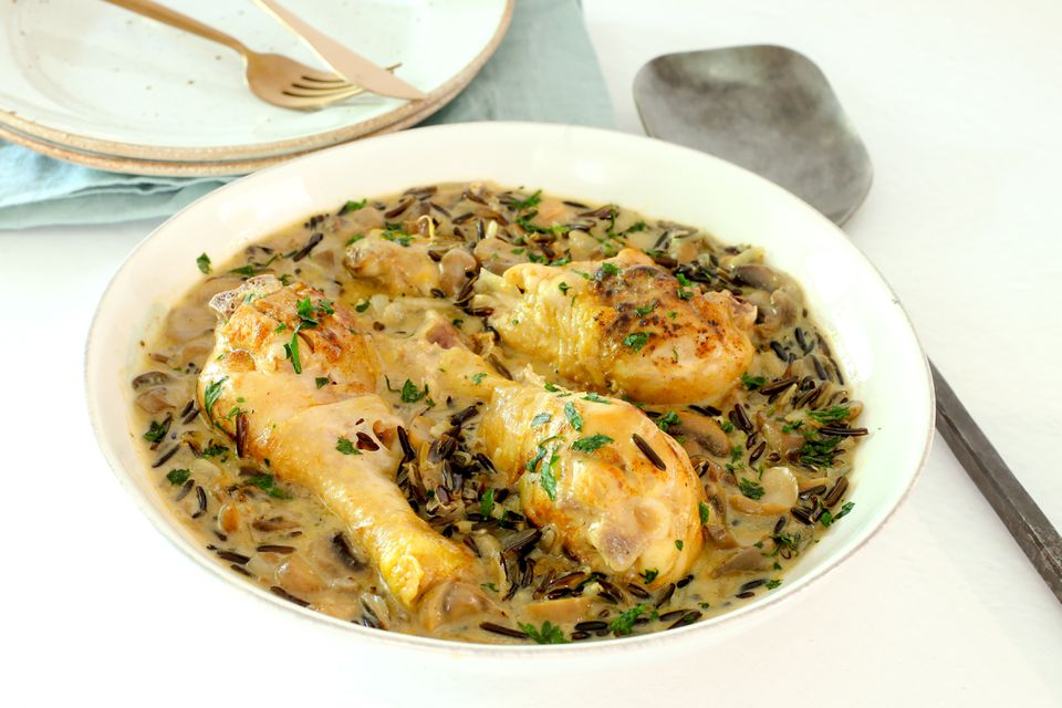 pheasant with wild rice