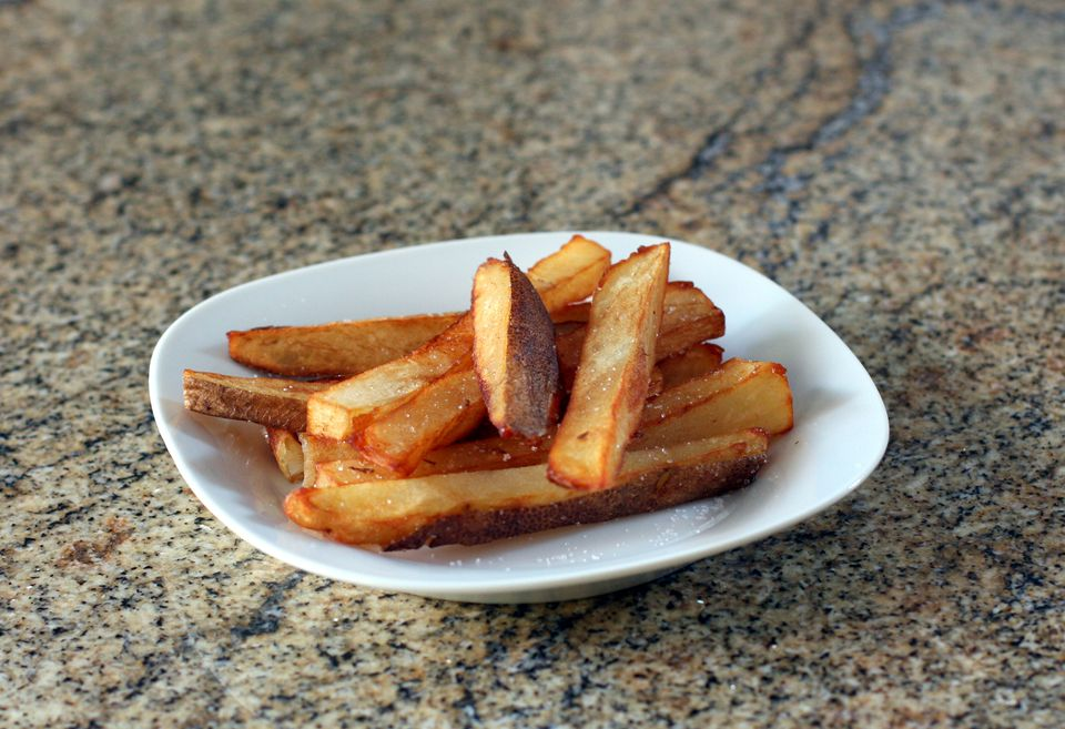 how to cook french fries oven