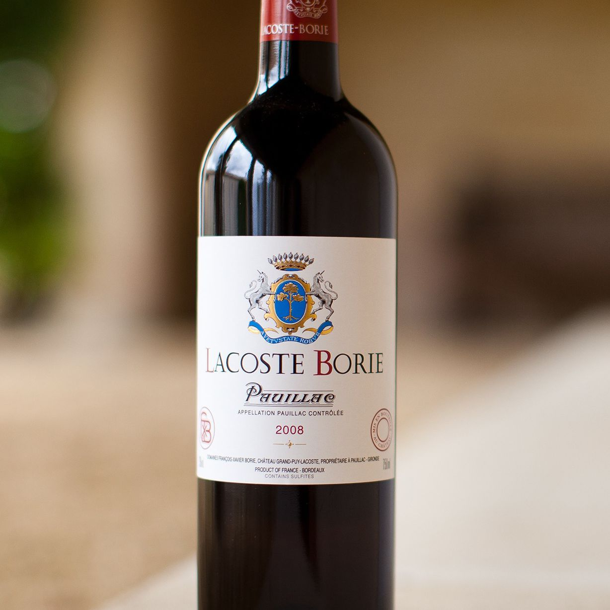 Lacoste Borie Pauillac Bordeaux Red Wine