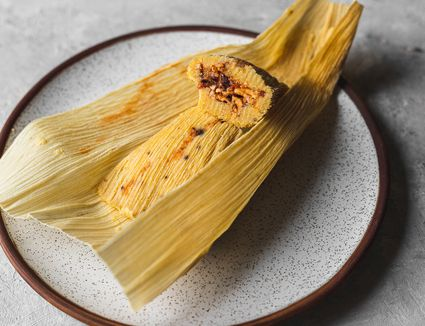 Quick and Easy Cheese Tamales