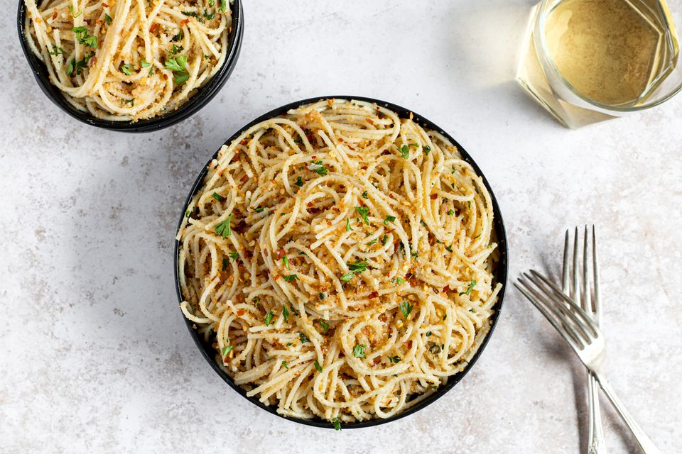 Spicy Spaghetti With Garlic and Olive Oil