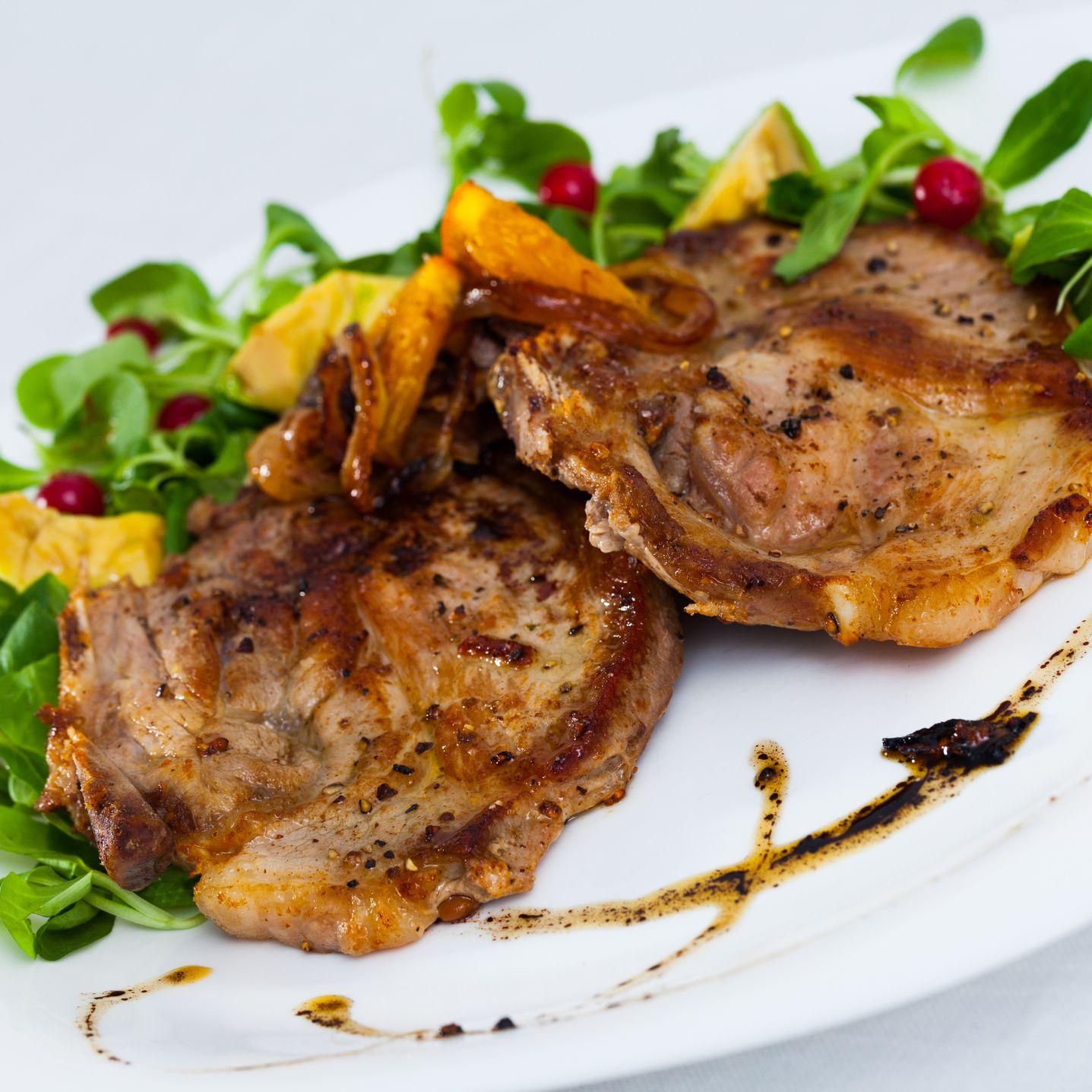 spanish pork loin chop recipes Pork Chops a la Madrilene (Spanish Pork Chops)