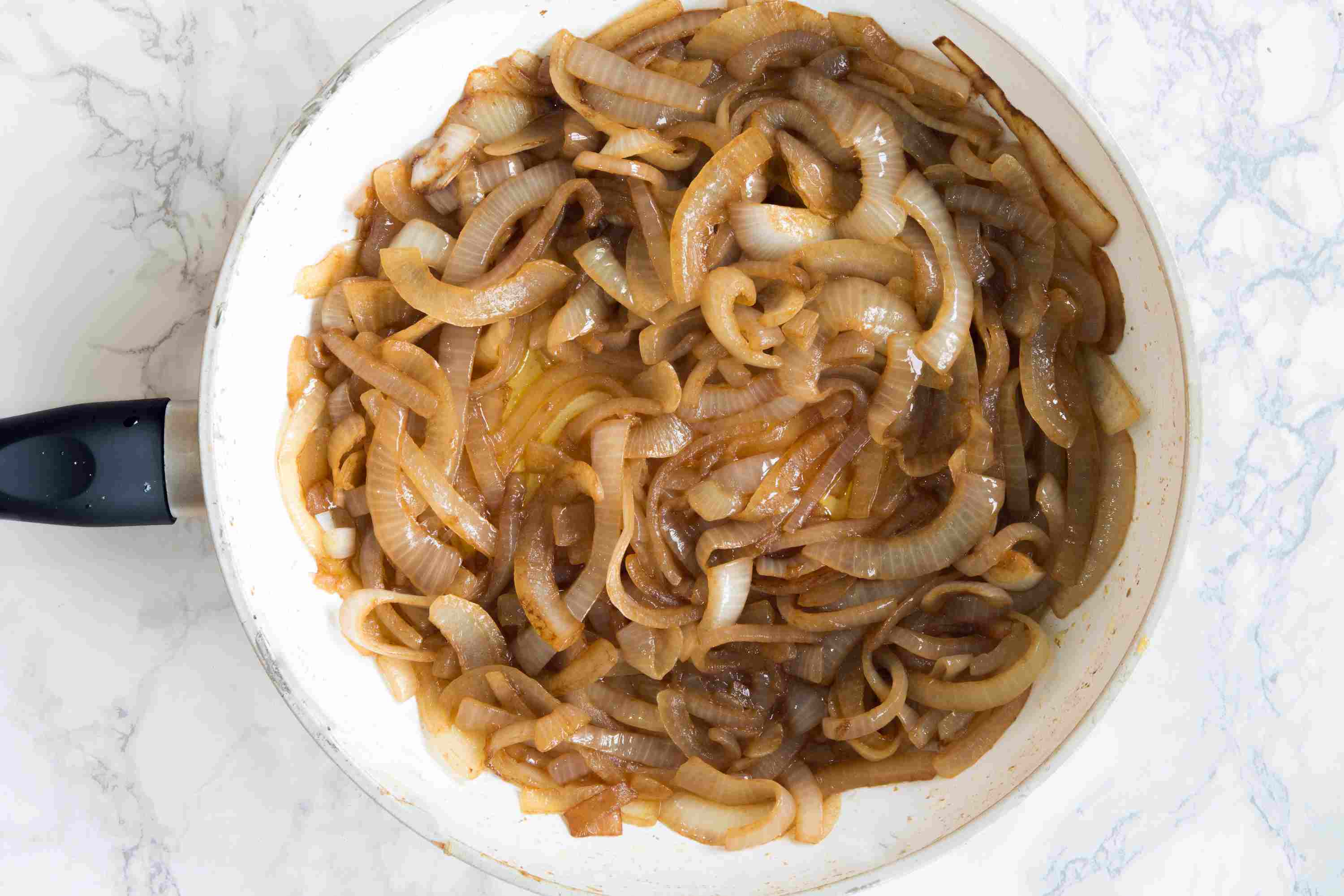 Caramelized Onions Browning